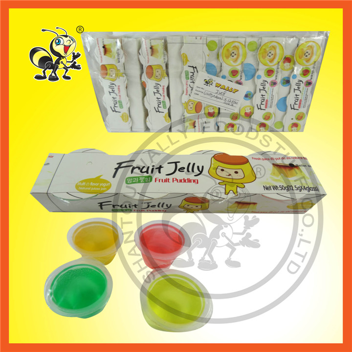 Mini Different Tastes Fruit Jelly Fruit Pudding
