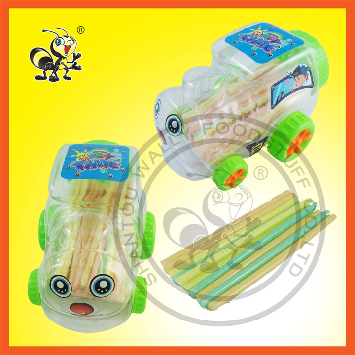 Train Bottle Shape Happy Time Happy Candy CC Stick