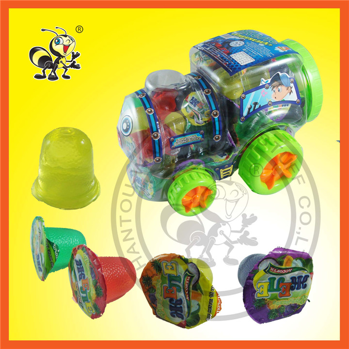 Train Shape Packed  Multi-Flavor Jelly