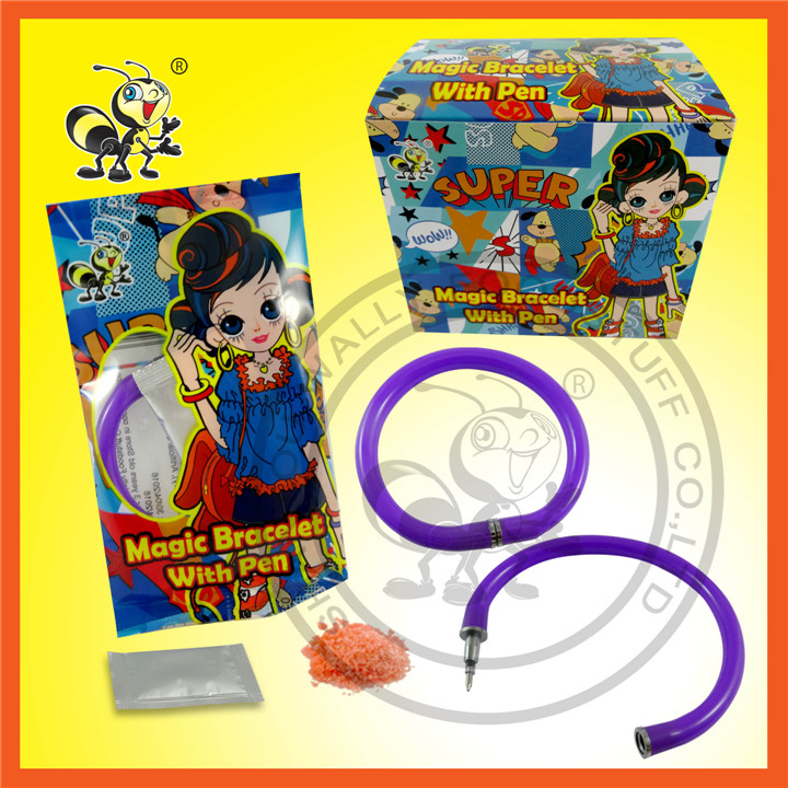 Magic Bracelet With Pen And Popping Candy Surprise Candy