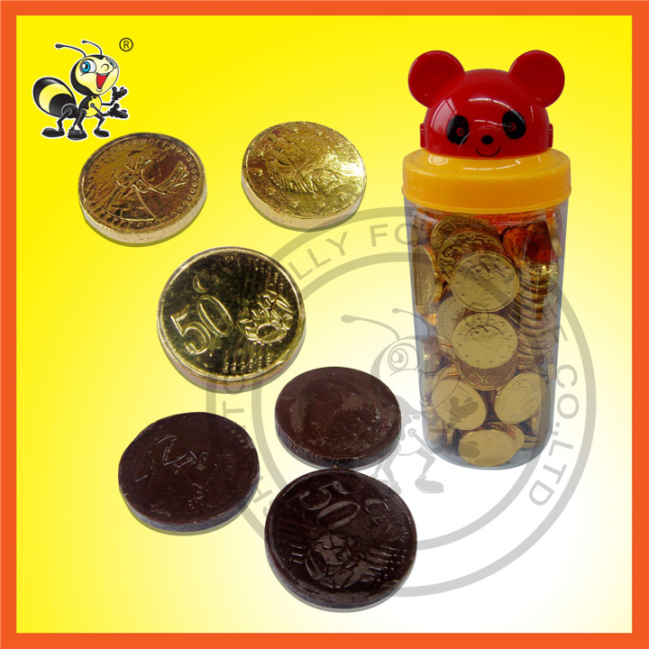 Panda Gold Coin Chocolate Candy Chocolate