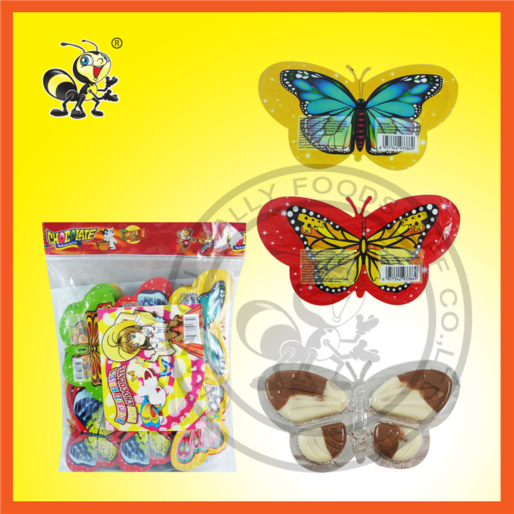 Butterfly Shaped Chocolate Biscuit Chocolate