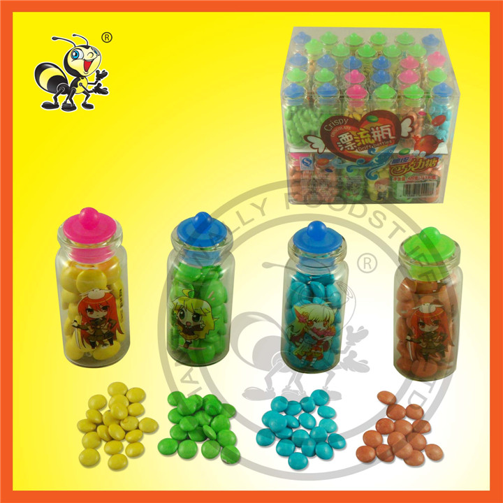 Virtual Bottle Packed Multicolor Chocolate Candy