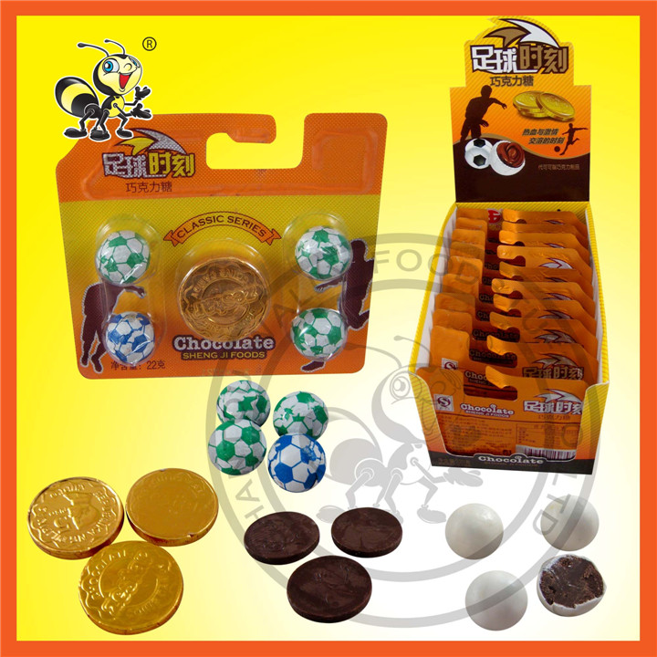 Classic Series 22g Football Candy Chocolate Candy