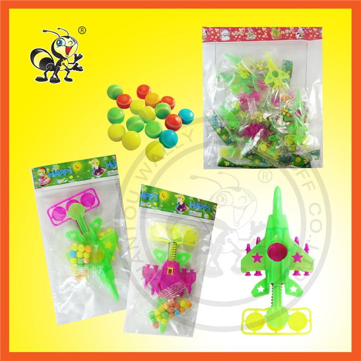 Bags Package Plane Toy With Candy Toy Candy