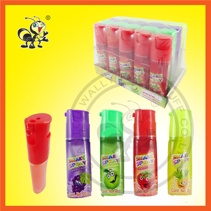 Lighter Shape Four Fruit Flavors Spray Candy