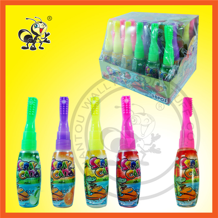 Different Color Toothbrush Toy Spray Candy