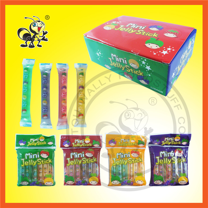 Box Packed Mini Jelly Stick Jelly Candy