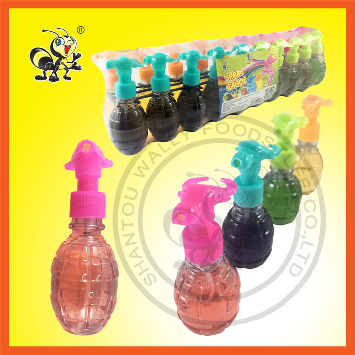Four Kinds of  Flavor Cow Head Grenade Body Spray Candy