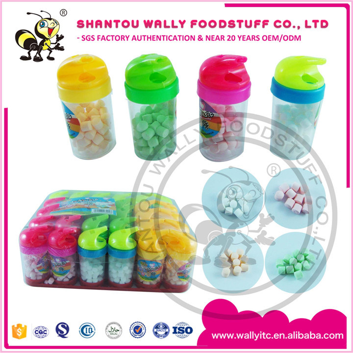 Fruity Flavors Compressed Candy In Whistle Bottle