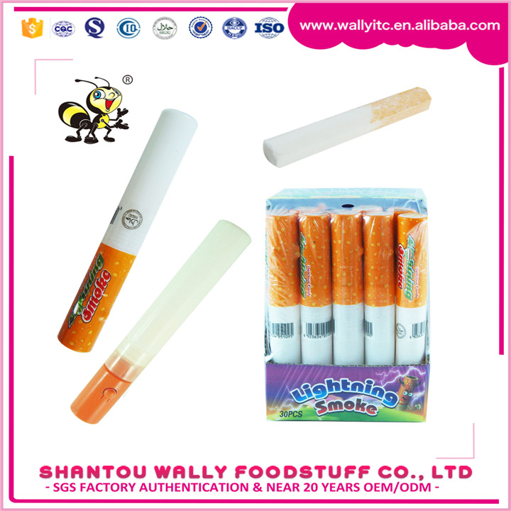 Smoke Compressed Candy In Lighting Cigarette Shape Tube